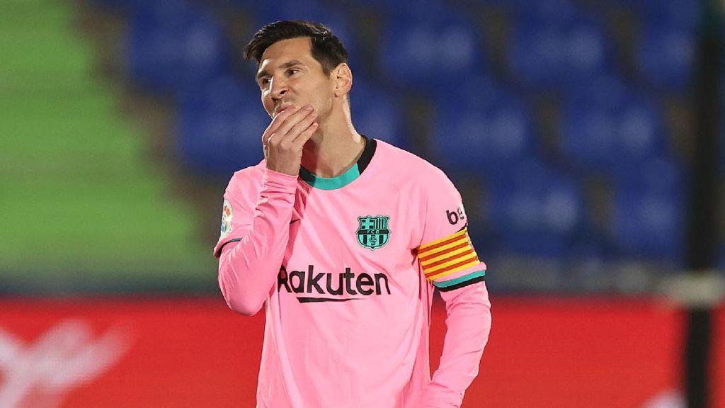Messi Tidak Nyaman di Barcelona