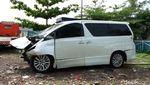 Begini Kondisi Mobil Hanafi Rais yang Kecelakaan di Cipali