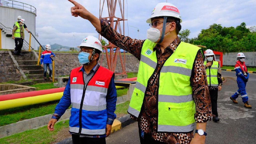 Pertamina Pastikan Sarana Distribusi Energi di Bali Berjalan Optimal
