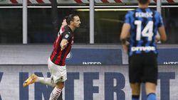 Inter Vs Milan: Dua Gol Ibrahimovic Menangkan Rossoneri