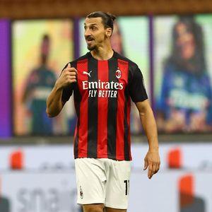 Milan Vs Roma: Rekor Bagus Ibrahimovic Lawan Giallorossi