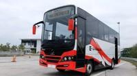 INKA Uji Coba Bus Listrik, Sekali Isi Baterai Tempuh 200 Km