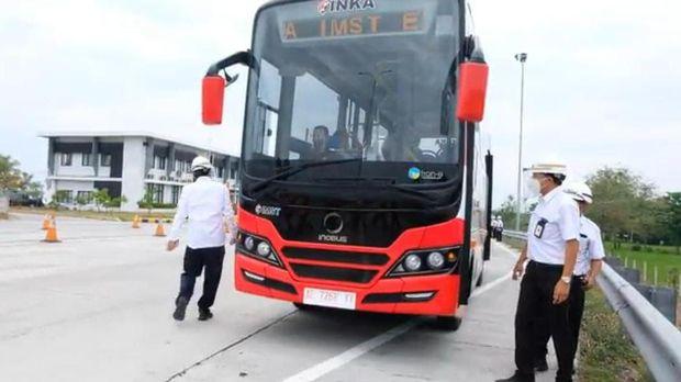 Bus Listrik PT INKA Madiun