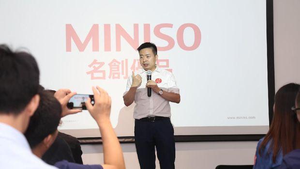 Co-founder dan CEO Miniso Glonal, Ye Guofu/Twitter MinisoOfficial