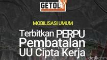 Buruh akan Lanjutkan Aksi Tolak Omnibus Law di Surabaya