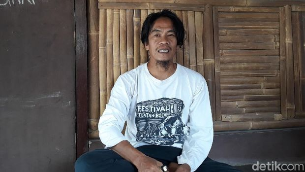 Faiz dan rekan-rekannya, selaku pendiri Sekolah Gajah Wong, Kota Yogyakarta, Senin (19/10/2020).