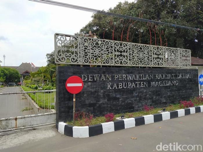 Gedung DPRD Kabupaten Magelang.