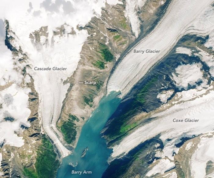 Gletser Alaska