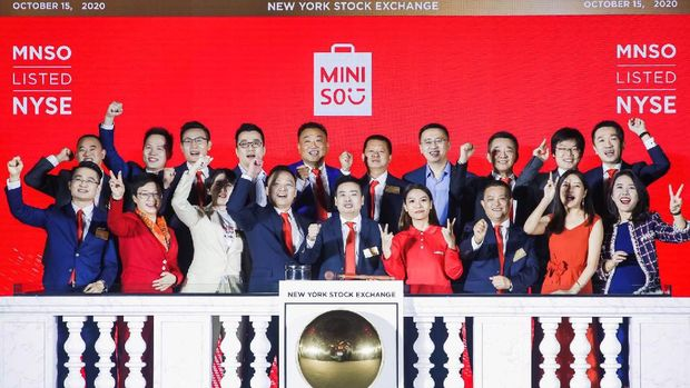 IPO Miniso Global/Twitter MinisoOfficial
