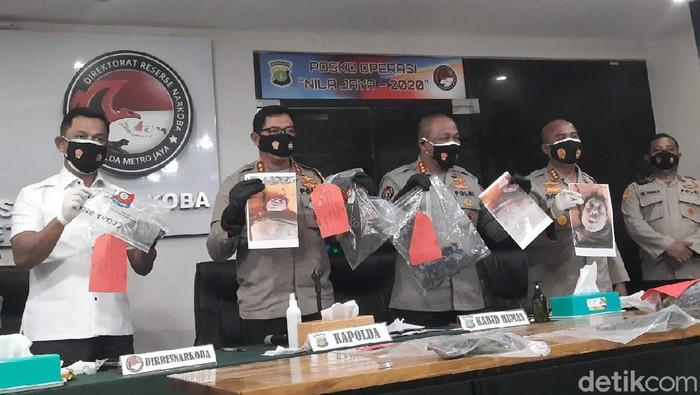 Jumpa pers hasil autopsi jenazah Cai Changpan di Polda Metro Jaya.