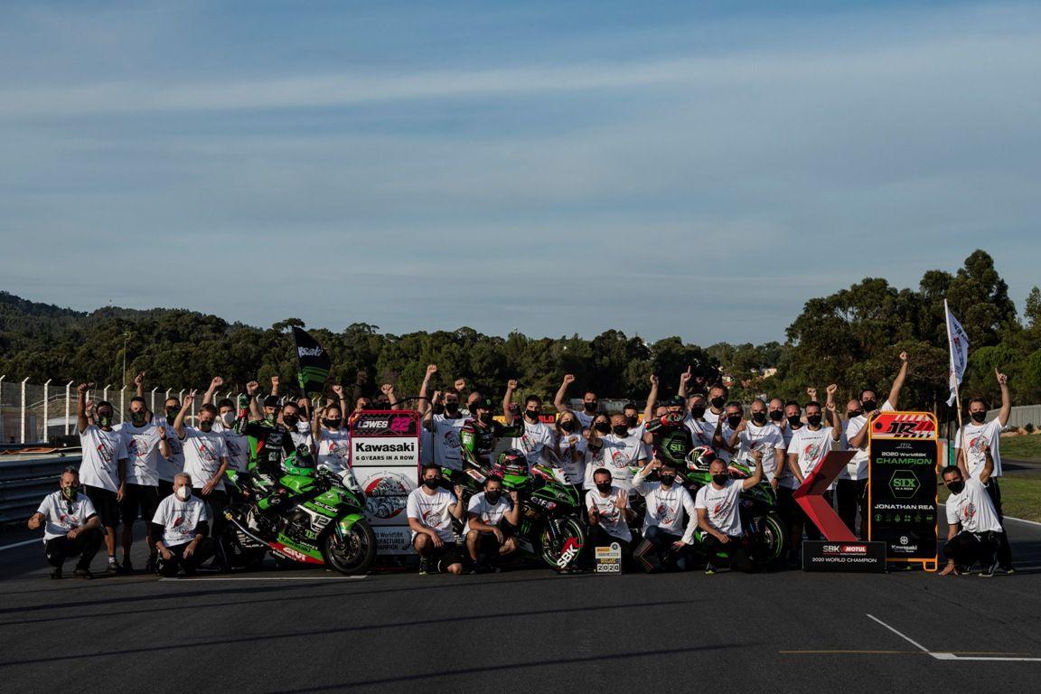 Kawasaki berhasil juarai gelar WSBK keenam berturut-turut