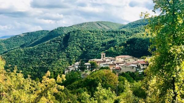 Kota Nortosce di Italia bak kota hantu. Kota ini ditinggalkan oleh penduduknya sejak akhir tahun 90-an. Penyebabnya karena bencana gempa bumi dan mencari penghidupan yang lebih layak. Sekarang kota ini cuma ditinggali 2 orang saja. (Silvia Marchetti/CNN)
