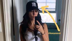 Pakai Topi Bertulisan Vote Kanye, Kourtney Kardashian Disebut Mengerikan