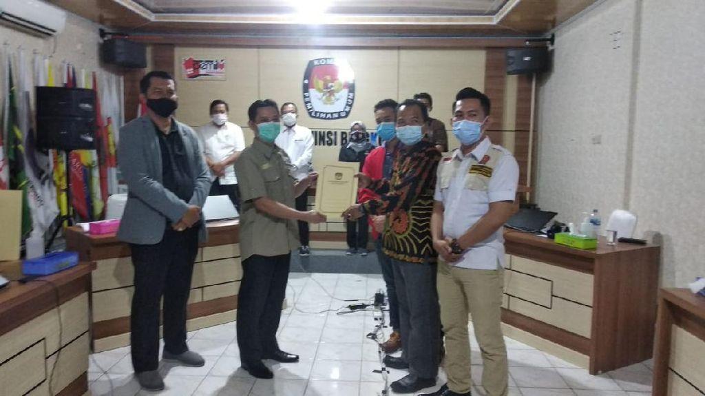 Jalankan Putusan Bawaslu, KPU Tetapkan Agusrin-Imron Peserta Pilgub Bengkulu
