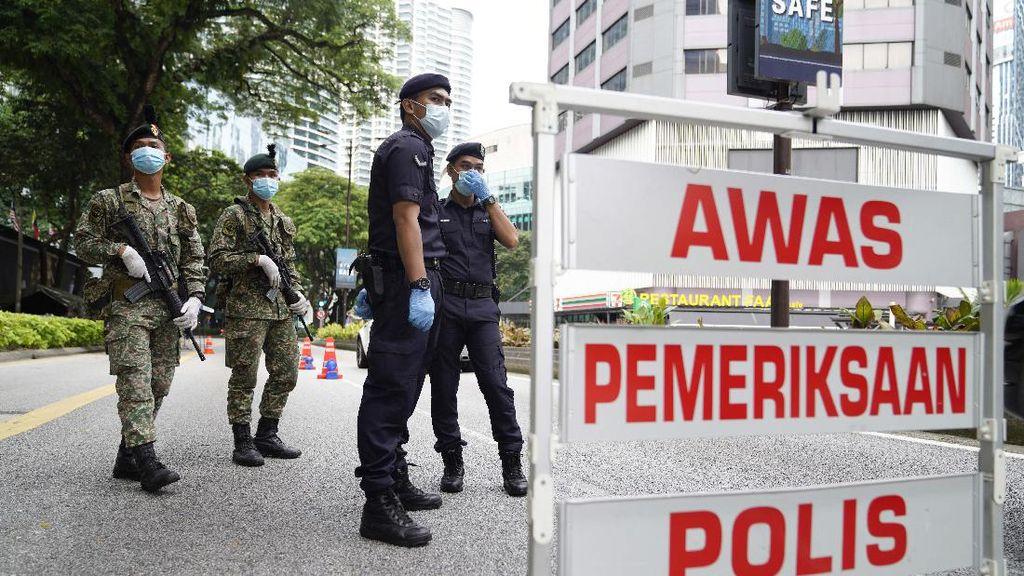 Amukan Corona Belum Reda, Malaysia Perpanjang Lockdown 2 Pekan!