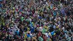 Melihat Lagi Aksi Unjuk Rasa Besar-besaran di Thailand