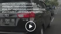 Kasus Mobil Halangi Ambulans di Mojokerto Gegara Pengemudi Gugup Dengar Sirine