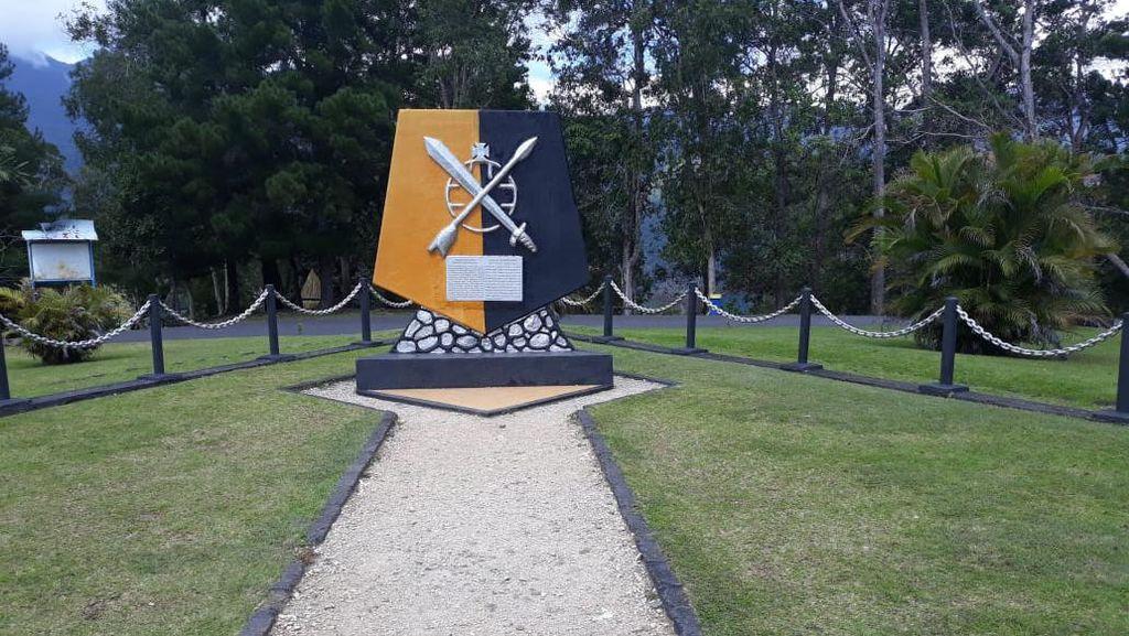 Potret Tugu Mac Arthur Jenderal AS PD II Lawan Jepang di Sentani Papua