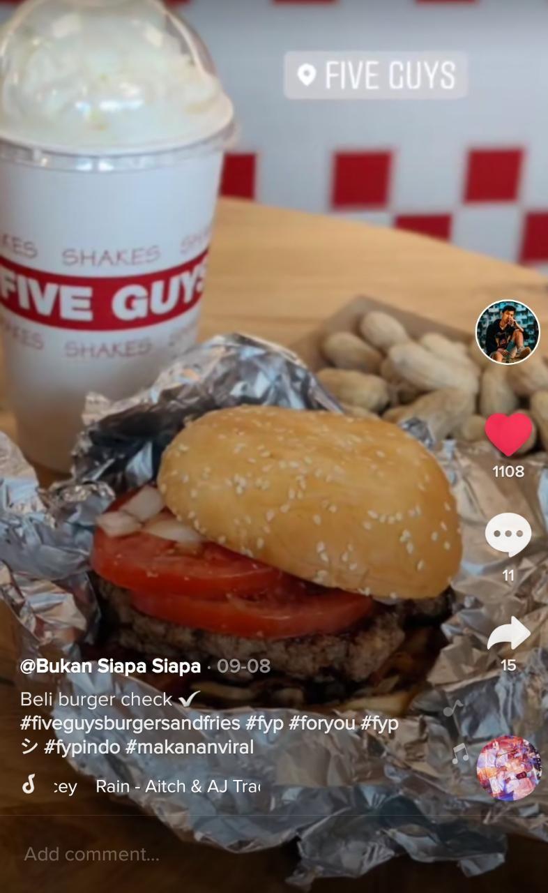 Ngidam Burger 'Five Guys', Netizen Indonesia Ini Terbang ke Singapura