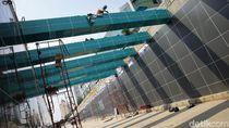 Pembangunan Underpass Senen Extension Terus Dikebut