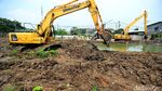 Pembuatan Waduk untuk Atasi Banjir di Semanan Jakbar