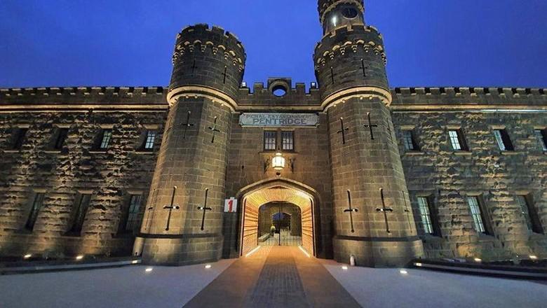 Penjara jadi bioskop