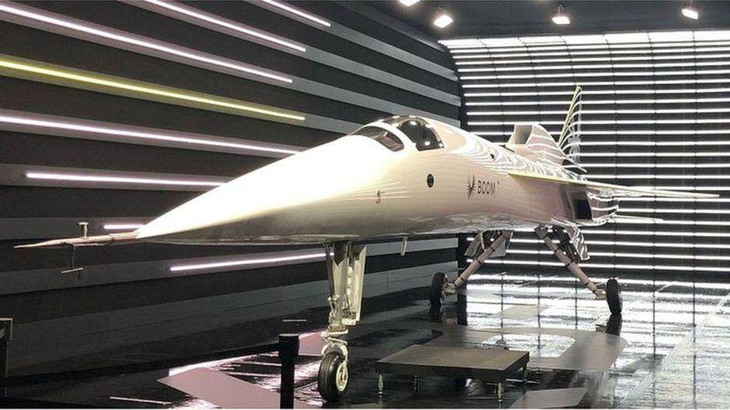 Jet Terbaru Janjikan Perjalanan dengan Kecepatan Suara