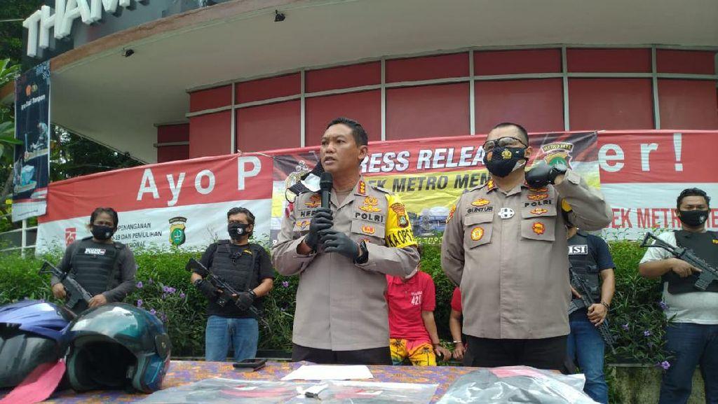 Aksi Jambret Pesepeda Viral di Menteng Berakhir di Tangan Polisi
