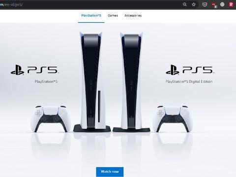 PS5 telat meluncur di asia tenggara