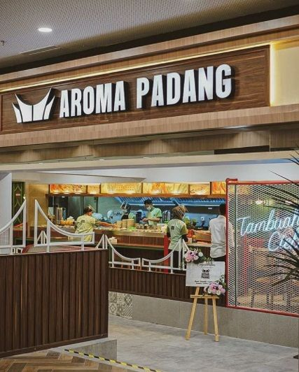 Resto Padang di Surabaya Pakai Conveyer Belt Mirip Sushi