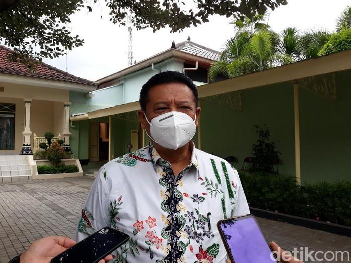 Sekretaris Daerah Istimewa Yogyakarta (Sekda DIY), Kadarmanta Baskara Aji, Senin (19/10/2020).