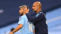 Man City Hati-hati Tangani Sergio Aguero