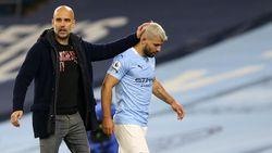 Guardiola: Man City Harus Maju Terus Tanpa Sergio Aguero