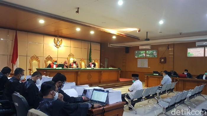 Sidang korupsi RTH Kota Bandung