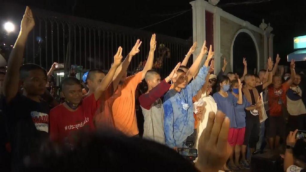 19 Aktivis Pro-Demokrasi di Thailand Dibebaskan