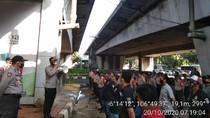 Polisi Siaga di Flyover Kuningan Jaksel, Bakal Razia Anarko
