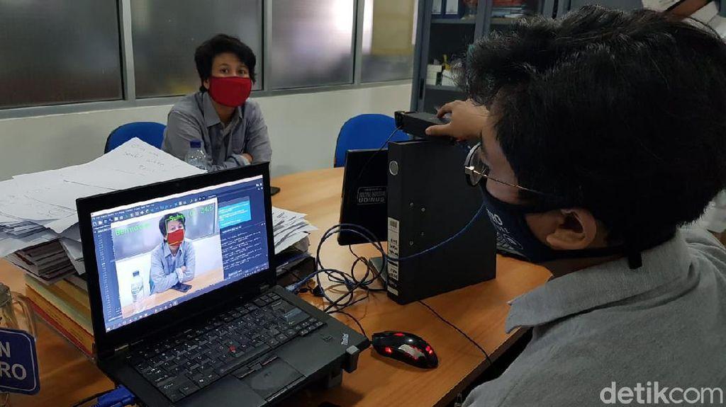 Mahasiswa di Semarang Bikin Alat Deteksi Orang Tanpa Masker