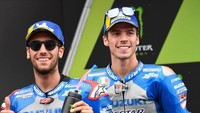 Usai Valentino Rossi-Franco Morbidelli, Joan Mir-Alex Rins Berikutnya