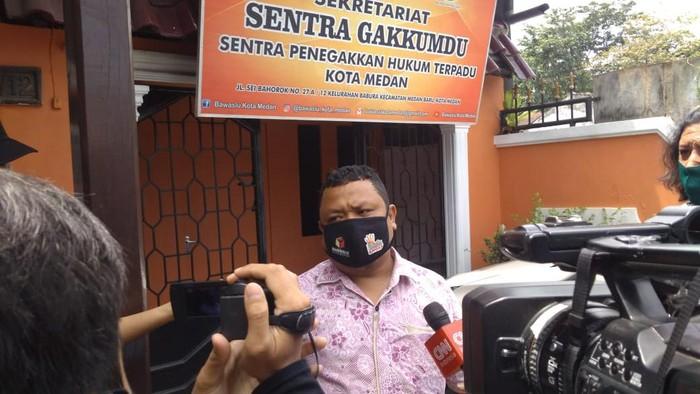Anggota Bawaslu Medan Taufiqurrohman (Datuk Haris-detikcom)