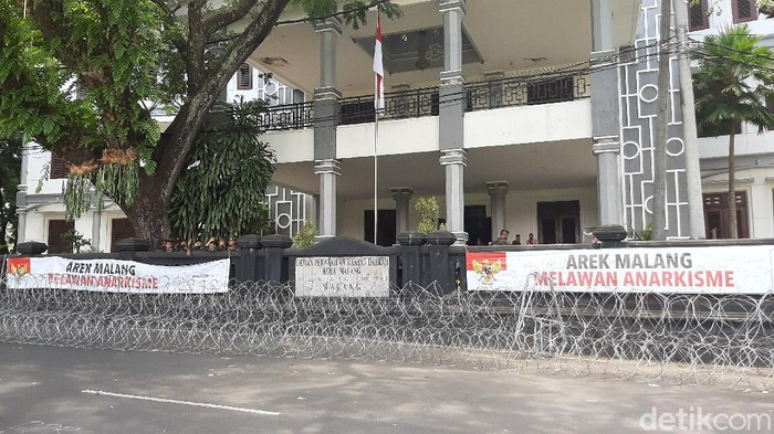 demo omnibus law di malang