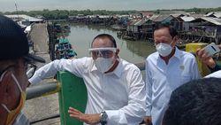 Gubsu Cek Banjir Rob di Belawan: Lahan Bakau Ditempati Orang, Ekosistem Rusak