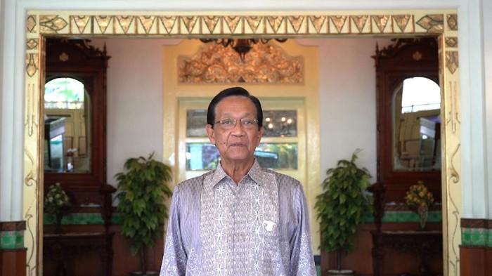 Gubernur DIY Sri Sultan Hamengku Buwono X, Selasa (3/11/2020).