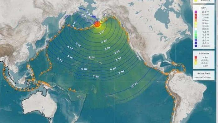 Bmkg Jelaskan Gempa M 7 5 Di Alaska Tsunami Tak Berdampak Ke Ri