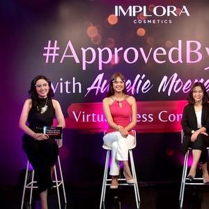 Aurelie Moeremans Ditunjuk Jadi Brand Ambassador Implora Cosmetics