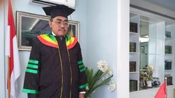 Cerita Kagoknya Jazilul Fawaid Wisuda S3 Virtual UNJ
