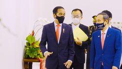 Bertemu Jokowi, PM Jepang Beri Utang Nyaris Rp 700 M