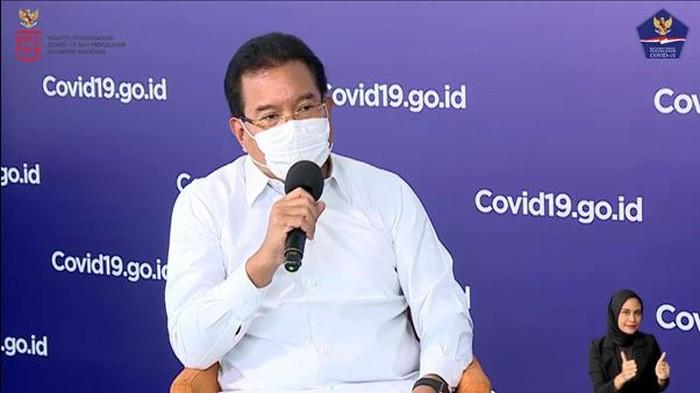 Juru Bicara Satgas COVID-19 Prof Wiku Adisasmito