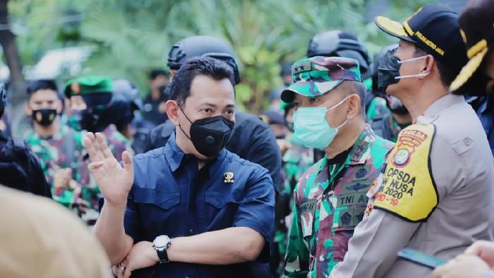 Kabareskrim Polri, Kapolda Metro Jaya hingga Pangdam Jaya tinjau demo di Patung Kuda