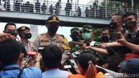 Polisi Amankan 33 Orang Diduga Anarko dari Lokasi Demo di Patung Kuda