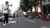 Video Demo Tolak Omnibus Law-Evaluasi Setahun Jokowi di Bandung
